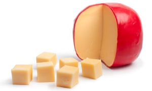 Edam cheese.