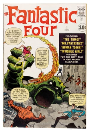 The first issue of Stan Lee and Jack Kirby's Fantastic Four hit newsstands in early August of 1961. The Marvel super hero era began with the Fantastic Four and in the ensuing years grew by Hulk-like leaps and bounds.