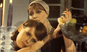 Anna Karina and Margit Carstensen in Rainer Werner Fassbinder's thriller Chinese Roulette