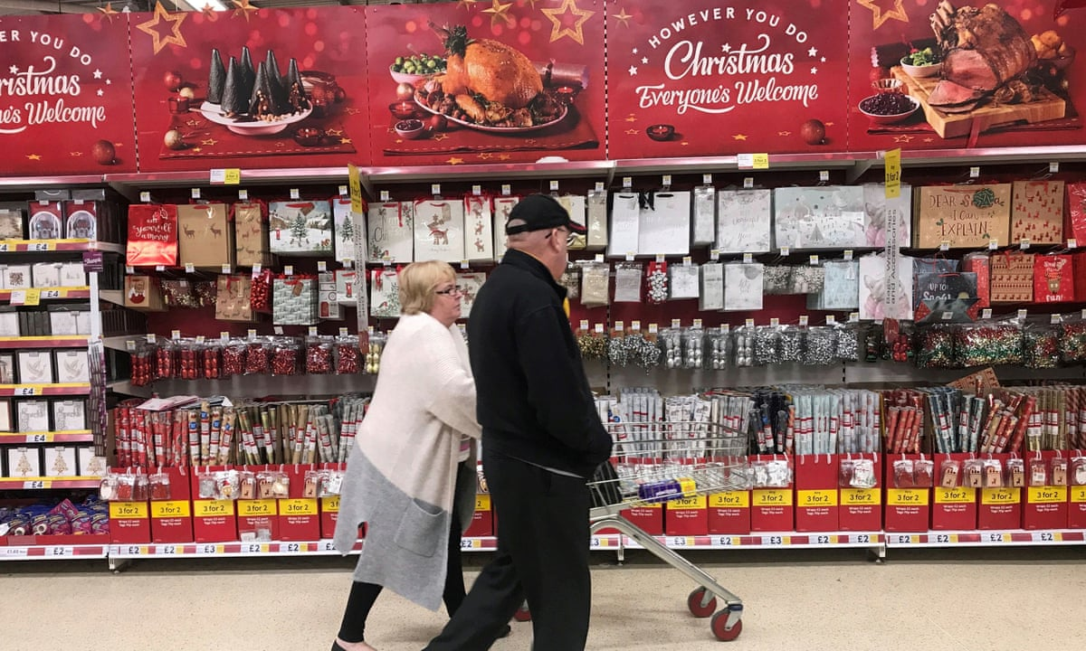 Tesco Christmas 2020 Tesco sales win out in subdued Christmas for UK supermarkets