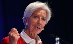 IMF managing director, Christine Lagarde