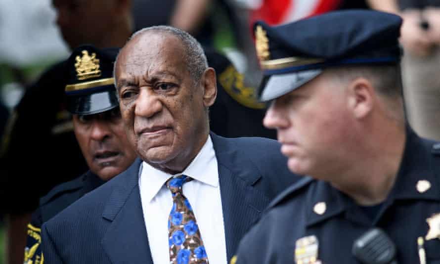 Bill Cosby attending court in September 2018.