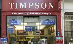 Watch and learn: Timpson is one of the companies that exceeds all expectations.