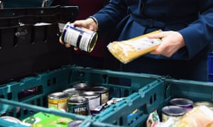 The researchers said the cost of healthy food was rising with many families relying on food banks.