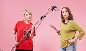 Julia Davis and Vicki Pepperdine.