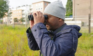 David Lindo, an urban birdwatcher