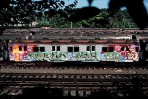'World War III,' CC Yard, the Bronx, 1982