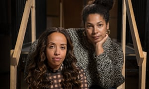 'The play reaches beyond an African-American experience' … Nadia Latif and Jackie Sibblies Dury.