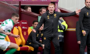 Neil Lennon saw his free-scoring team score five goals at Motherwell at the weekend.