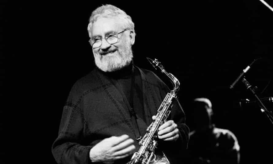 The sound of someone 'thinking out loud': Lee Konitz performing in Amsterdam in 1992.