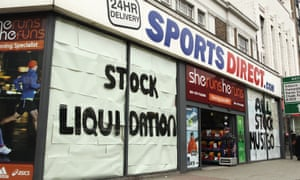 'The world of the Sports Direct warehouse is one in which low-skilled workers are treated like the robots who will surely one day come to replace them.'