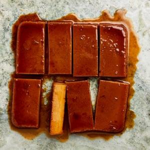 Blender dessert: Yotam Ottolenghi's tangerine and ancho chilli flan.