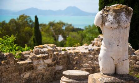Ruins of Carthage, Tunisia