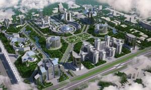 The Uzbek government hopes Tashkent City will be a hub for international finance.