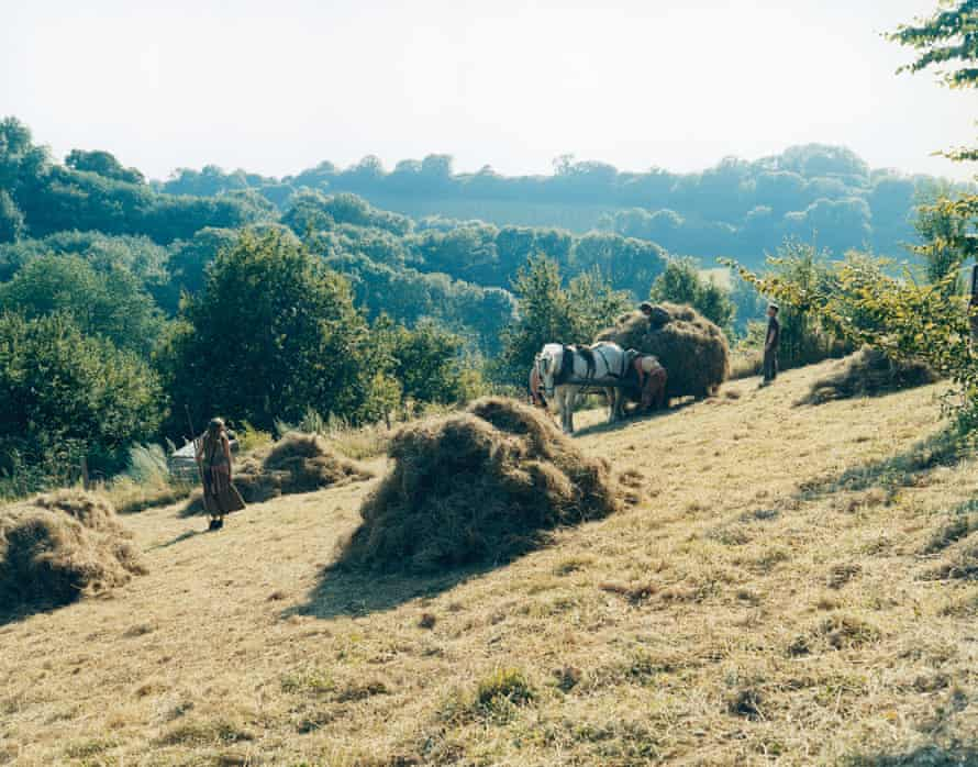 Haymaking, Tinkers Bubble, Somerset, July 2005