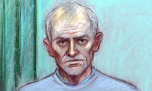Barry Bennell is appearing at Liverpool crown court via video link for reasons of poor health.