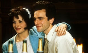 Juliet Binoche and Daniel Day-Lewis as Teresa and Tomas in the 1988 film of The Unbearable Lightness of Being.