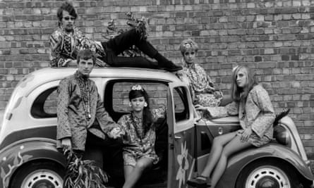 Flower power, circa 1968: 'Ours was the generation that preached love and acceptance; shame we lost that warm generosity.'