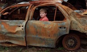 Merkel's junkyard, Regine Petersen's Find a Fallen Star