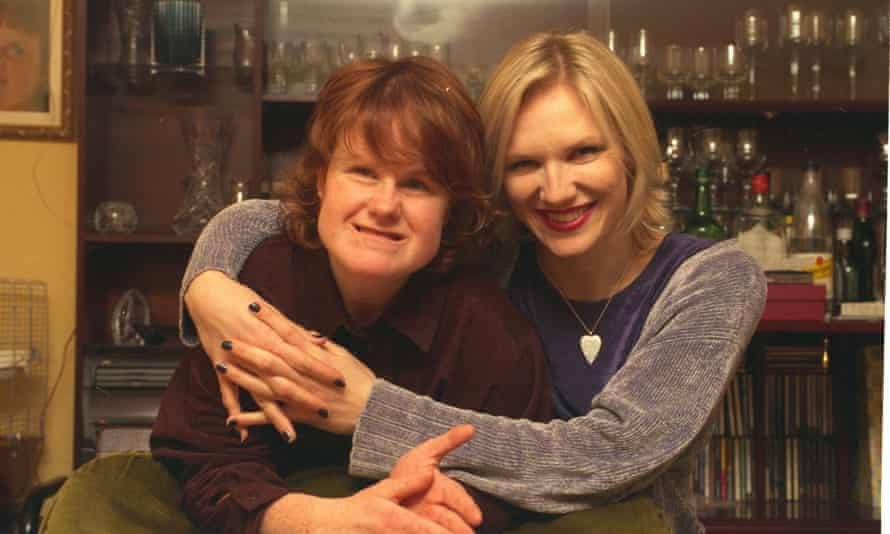 DJ Jo Whiley with her sister Frances.