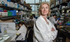 Scientific zeal … Jennifer Doudna.