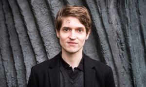 Relentlessly bright … EU prize for literature winner Benedict Wells.