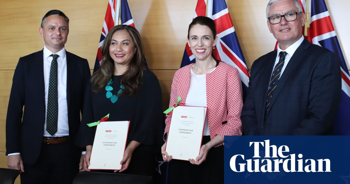 New Zealand's Labour and Greens formally sign 'cooperation' deal – The Guardian