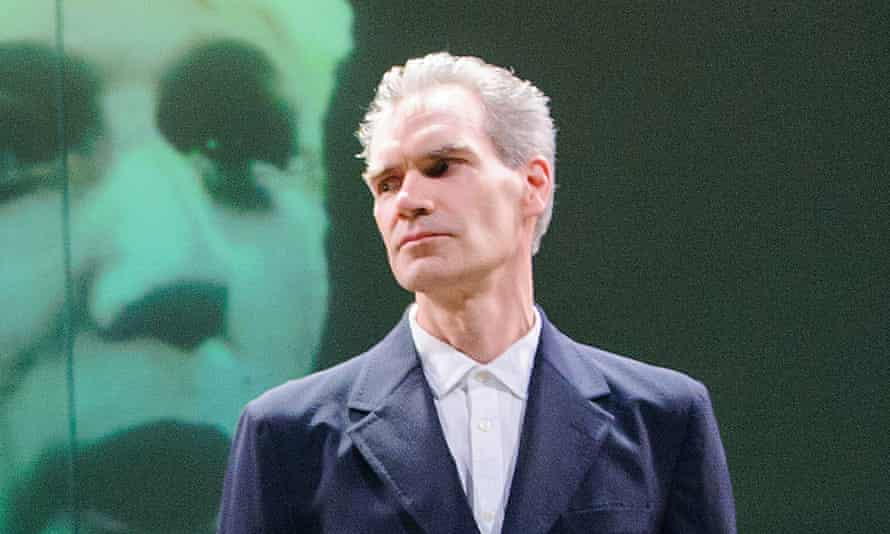 Haunted by moral guilt … Oresteia, withAngus Wright.