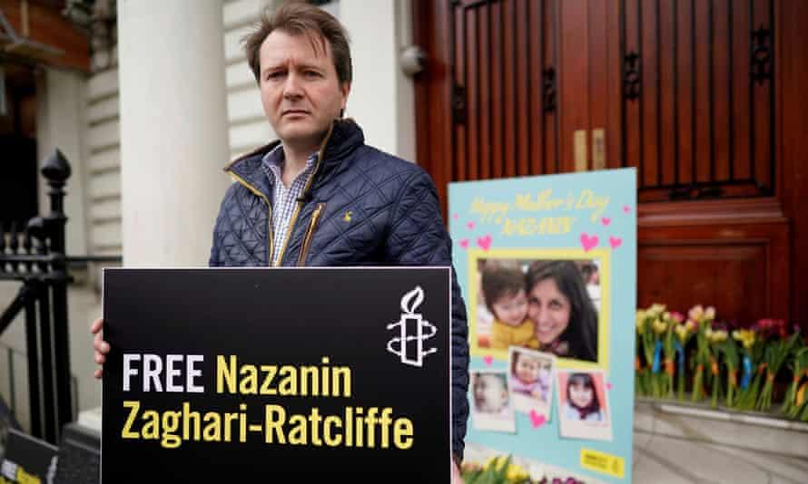 Richard Ratcliffe, husband of British-Iranian dual national Nazanin Zaghari-Ratcliffe.