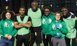 Efe Obada at the Big Kid Foundation in StoMarch 2019.