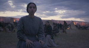 Zoe Kazan as Alice Longabaugh in The Ballad of Buster Scruggs, a film by Joel and Ethan Coen