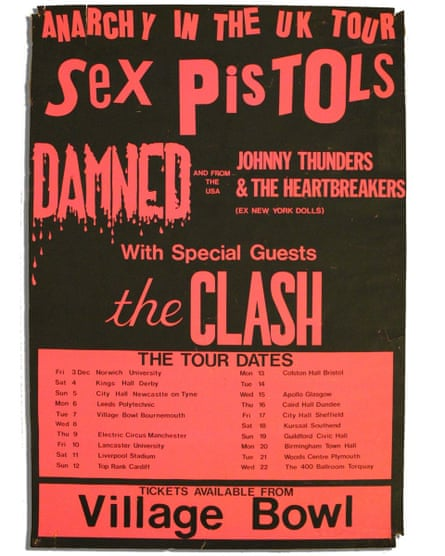 Anarchy in the UK tour.