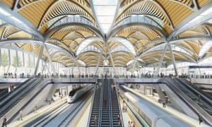 Artist's impression of the HS2 station at Euston
