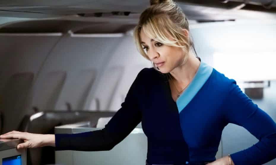 Kaley Cuoco in The Flight Attendant.