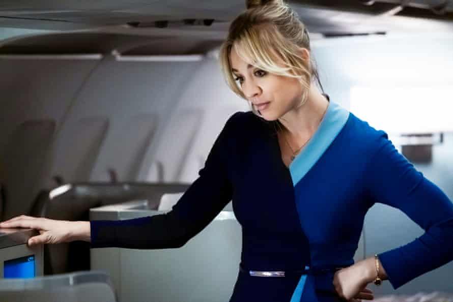 Kaley Cuoco in The Flight Attendant
