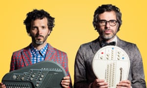 It's business time … Flight of the Conchords.