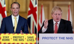 Dominic Raab deputising for Boris Johnson, what does that mean? – video