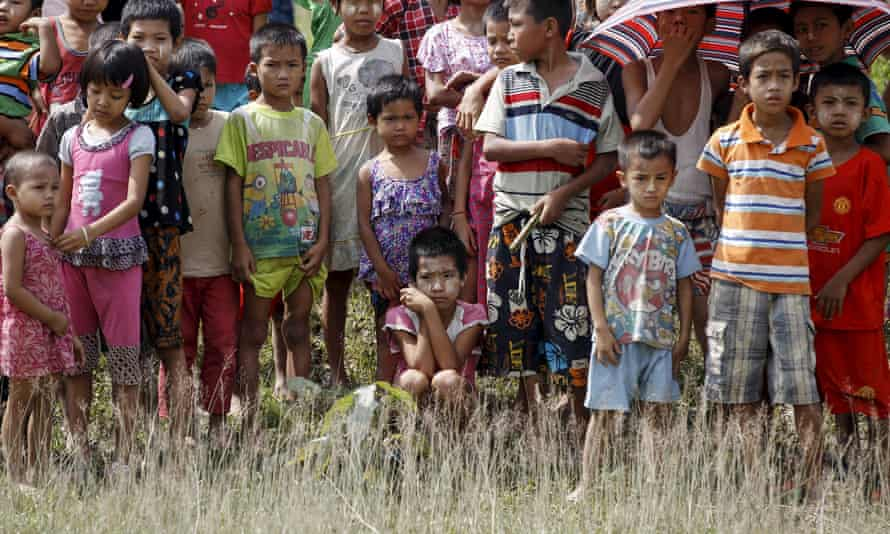 Unicef calls for help for children and their families in Rakhine state, where 120,000 internally displaced peope live in camps.