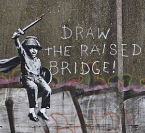 Banksy's acknowledgment of the Hull mural, 27 January 2018.