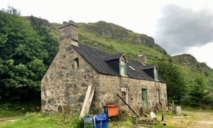 Croft House Bothy B&B in Heart of Highlands