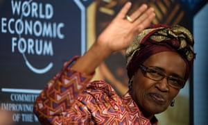 Winnie Byanyima of Oxfam International