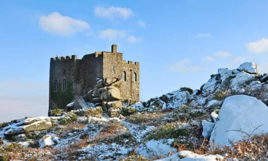 Carn Brea Castle … the family in the novel own an old castle in Cornwall.