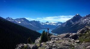 View over Spray Lakes, Canmore