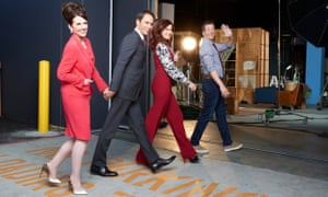 Cast of Will & Grace: Megan Mullally, Eric McCormack, Debra Messing and Sean Hayes