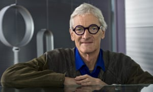 James Dyson at the company's office in Malmesbury, Wiltshire