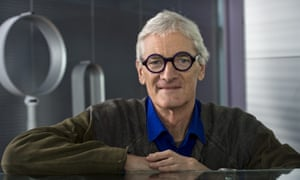 Sir James Dyson at his Wiltshire office
