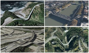 Postcards from Google Earth.