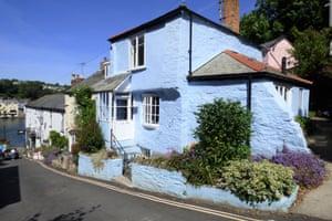 Fantasy : coloured : Bodinnick, Cornwall