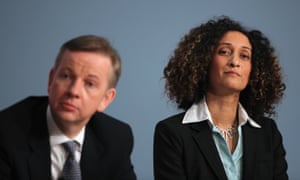 Katherine Birbalsingh, pictured with Michael Gove in 2010.