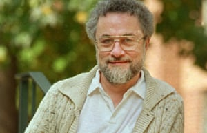 Adrian Cronauer outside his home in Philadelphia, Pennsylvania, in 1987